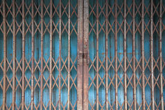Chinese Rusty Traditional Gate Royalty Free Stock Image