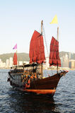 Chinese sailing ship Stock Photography