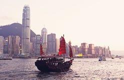 Chinese sailing ship Royalty Free Stock Photos