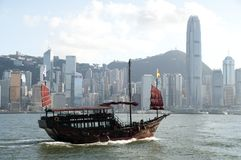 Chinese sailing ship Royalty Free Stock Image