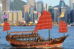 Chinese sailing ship stock image