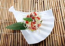 Chinese  salad.tuna Royalty Free Stock Photo