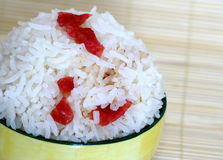 Chinese Sausage Rice Stock Photography
