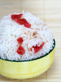 Chinese Sausage Rice Royalty Free Stock Photo