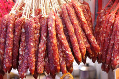 Chinese Sausage Stock Photos