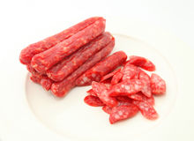 Chinese Sausages Royalty Free Stock Photos