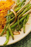 Chinese Sauteed String beans Stock Photos