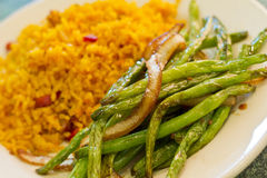 Chinese Sauteed String beans Royalty Free Stock Image