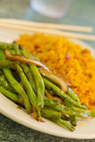 Chinese Sauteed String beans Royalty Free Stock Photography
