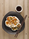 Chinese scallion pancakes Royalty Free Stock Photos