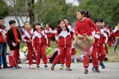Chinese school children Royalty Free Stock Photos