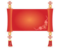 Chinese scroll royalty free illustration