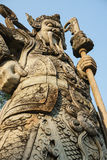 Chinese sculpture. Sculpture in chinese style at buddist temple Stock Photography