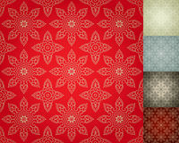 Chinese Seamless Damask wallpaper background Stock Images