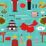 Chinese Seamless Pattern Royalty Free Stock Photos