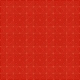 Chinese seamless pattern. Red and golden chinese traditional ornament background. Vector illustration.  vector illustration