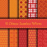 Chinese seamless Royalty Free Stock Images