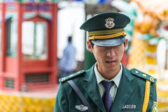 Chinese security guard - Beijing police, China Stock Images