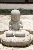 Chinese seminarians Buddha statue Stock Images