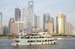 Chinese Shanghai Habour Royalty Free Stock Photos