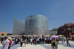 Chinese 2010 Shanghai World Expo Latvia Pavilion Royalty Free Stock Photos
