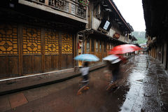 Chinese shangli old  town Royalty Free Stock Image