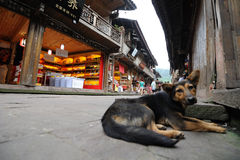 Chinese shangli old  town Royalty Free Stock Photos