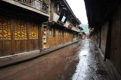 Chinese shangli old  town Royalty Free Stock Photo