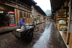 Chinese shangli old  town Stock Photography