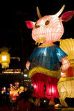Chinese Sheep Animal Zodiac Lantern Stock Images