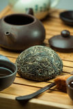 Chinese shen puer tea stock photography