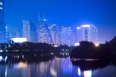 Chinese shenzhen city Stock Images