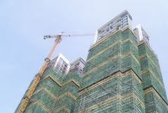 Chinese Shenzhen city building Royalty Free Stock Images