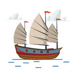 Chinese ship -  Royalty Free Stock Photo