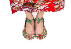 Chinese shoes Stock Photo