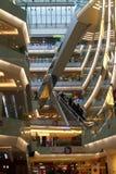 Chinese shopping mall Stock Photo