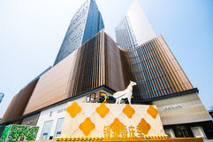 Chinese shopping mall stock images