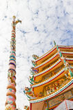 Chinese Shrine, a beautiful Chinese temple. Royalty Free Stock Images
