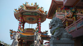 Chinese shrine in Chonburi,Thailand. Royalty Free Stock Photography
