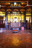 Chinese Shrine inside Royalty Free Stock Image