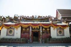 Chinese shrine of Lady princess Soi Dok Mak Betel Nut Blossom Royalty Free Stock Photography