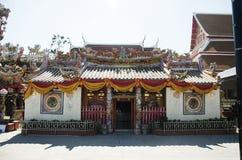 Chinese shrine of Lady princess Soi Dok Mak Betel Nut Blossom Stock Image