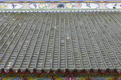 Chinese Shrine roof,Bangkok, Thailand Stock Image