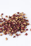 Chinese Sichuan pepper or Prickly Ash Peel(hua jia Stock Photography