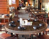 Chinese Sidewalk Restaurant Stock Photos