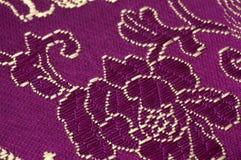 Chinese Silk. Close up photo Royalty Free Stock Photos