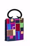 The Chinese silk bag. The Chinese silk bag on a white background Stock Photos