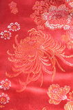 Chinese silk fabric Stock Photos