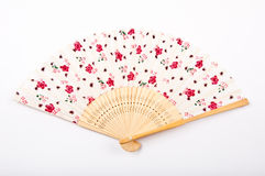 Chinese silk fan Royalty Free Stock Image