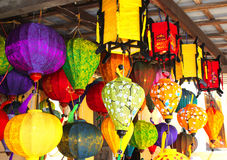 Chinese silk lanterns in Hoi An, Vietnam Royalty Free Stock Photos